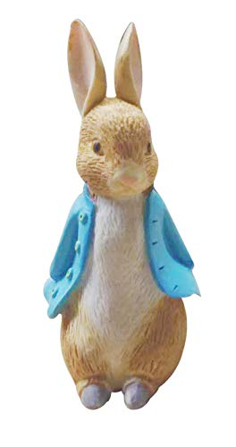 Creative Party TF306 Peter Rabbit Resin Cake Toppers-12 Pcs