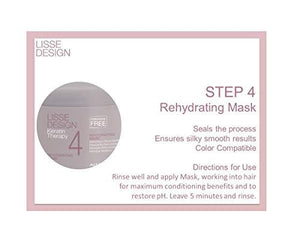 AlfaParf Lisse Design Keratin Therapy Rehydrating Mask (Salon Size) 500ml -AlfaParf Lisse Design Keratin Therapy Rehydrating Mask 500m Come in Salon Size, this mask is therapeutic, keratin-rich re-hydrating mask Helps preserve & prolong the effects.- Stabeto