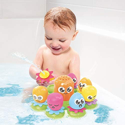TOMY Toomies Octopals Number Sorting Baby Bath Toy | Educational Water Toys For Toddlers | Suitable For 1, 2 & 3 Years Old Boys & Girls
