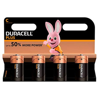 Duracell Baby C/LR14/AM2/4014/1.5V Alkaline Battery (4x)