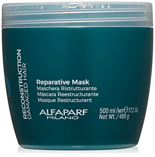 ALFAPARF SEMI DI LINO RECONSTRUCTION MASK 500ML - Stabeto