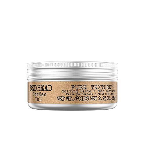 Product Description Bed Head for Men Pure Texture Hair Paste is ideal for guys who want texture and definition. The hair styling paste has a medium to firm hold. The TIGI Bedhead for Men Pure Texture Molding Paste gives you perfect styling flexibility . - Stabeto