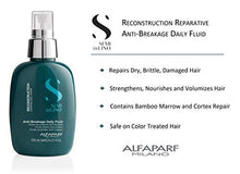 Load image into Gallery viewer, ALFAPARF SEMI DI LINO RECONSTRUCTION Damaged Hair Reparative Low SULFATE-FREE Anti-breakage Daily FLUID 125ml - Stabeto