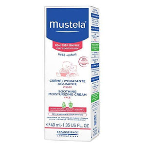 Mustela Soothing Moisturizing Cream For Face - Very Sensitive Skin 40ml - Stabeto