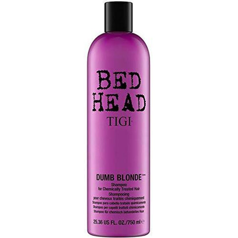Bed Head by Tigi Dumb Blonde Shampoo for Damaged Blonde Hair, 750 ml - Stabeto