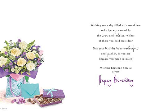 Birthday Card Someone Special - 9 x 6 inches - Regal Publishing