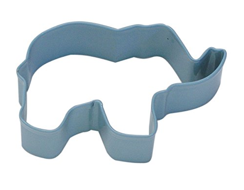 Creative Party K1221/B Blue Elephant Cookie Cutter-1 Pc, Steel