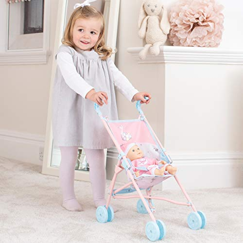 HTI Toys Babyboo Stroller Buggy | Childrens Baby Doll Pram Pushchair Toy Great For Girls & Boys Aged 3+