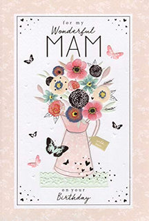 Mam on your Birthday, Birthday Card