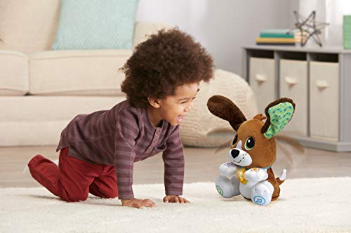 LeapFrog Speak and Learn Puppy, Cute Soft Toy for Babies & Toddlers, Baby Musical Toy with Sounds and Phrases, Sensory Toys for Babies, Educational Toys for Baby Boys and Girls aged 1, 2, 3 Years+