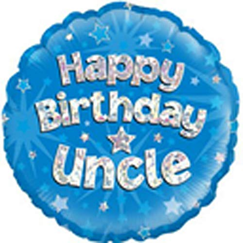 "Happy Bday Uncle 18"" Balloon"