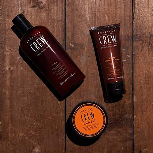 American Crew - CREW 3 IN 1 shampoo. conditioner and body wash 450 ml-Man - Stabeto