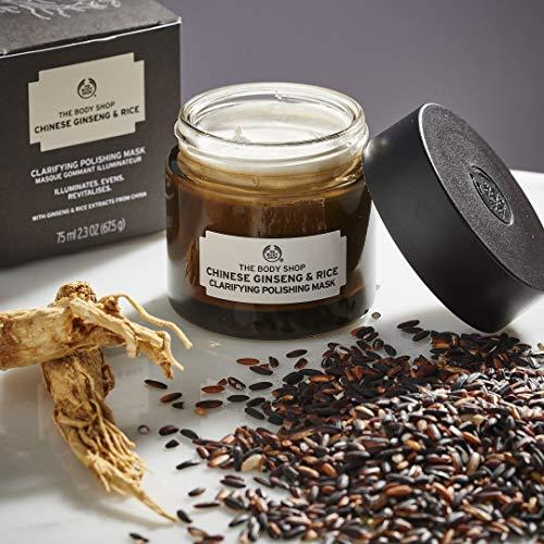 The Body Shop Chin. Ginseng & Rice Clar. Pol. Mask 75ml - Stabeto