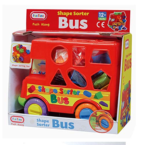 Fun Time Time Shape Sorter Bus, 55889