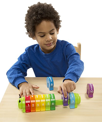Melissa & Doug Counting Caterpillar | Developmental Toy | Motor Skills | Problem Solving | 2+ | Gift for Boy or Girl