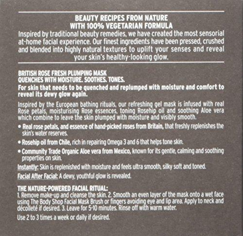 The Body Shop British Rose Fresh Plumping Mask - Stabeto