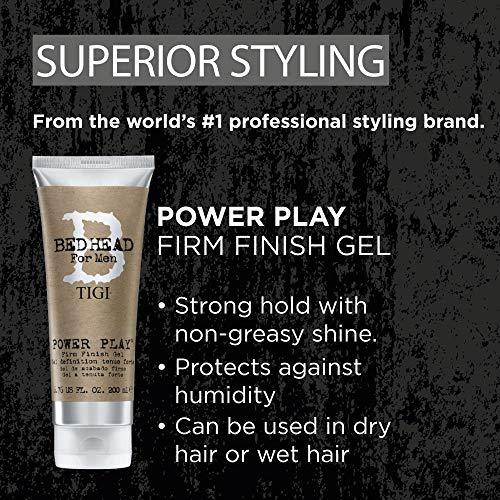 Bed Head for Men by Tigi Power Play Mens Hair Gel for Strong Hold, 200 ml - Stabeto