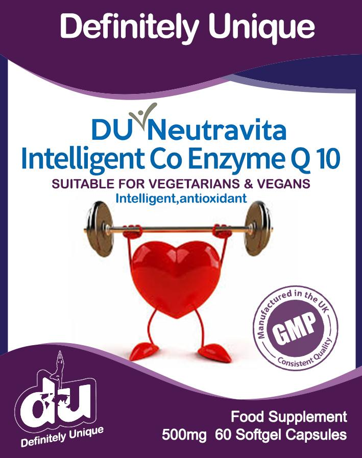 DU Neutravita Intelligent Co Enzyme Q10 100mg - Stabeto