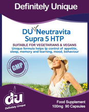 Load image into Gallery viewer, DU Neutravita Supra 5-HTP 200mg 90 Capsules - Stabeto