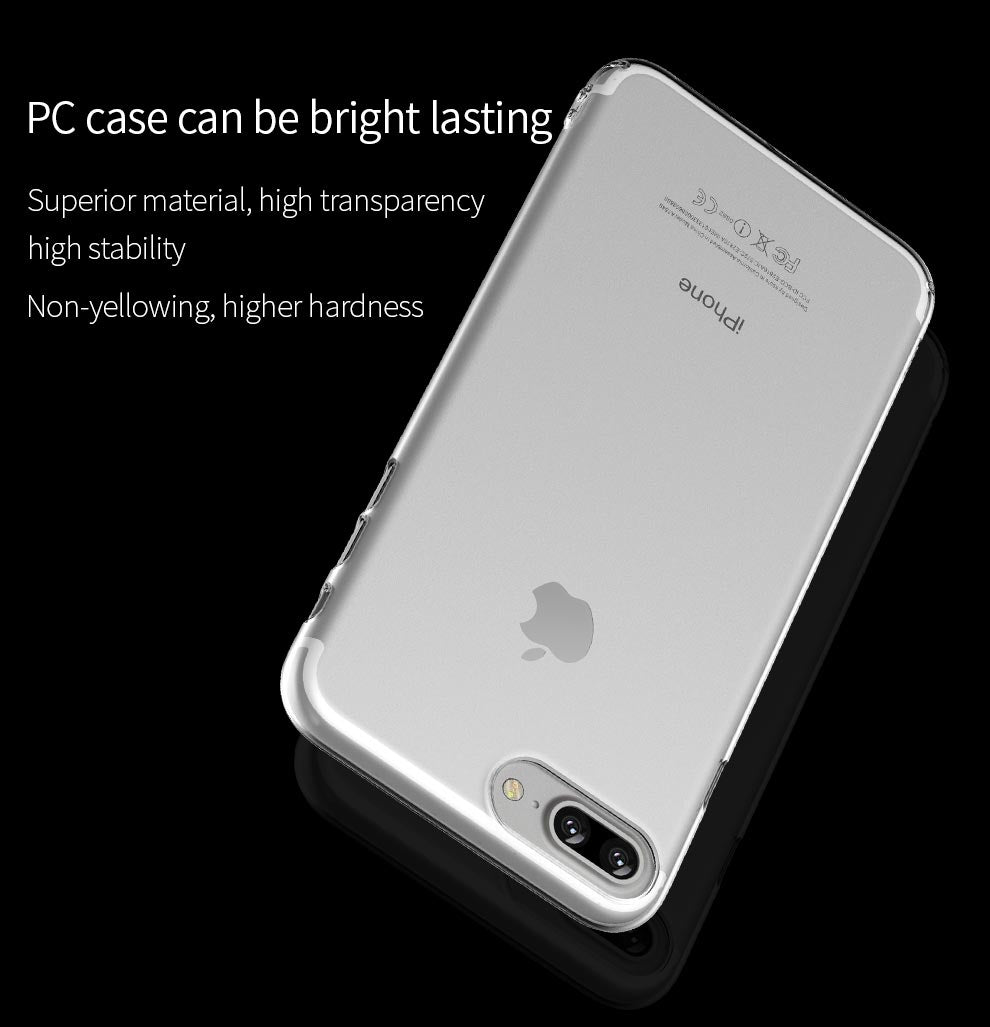 ICONFLANG Phone Case for iPhone 7 7 Plus Crystal Series TPU Drop Protection Back Cover For iphone 7 Plus Shell