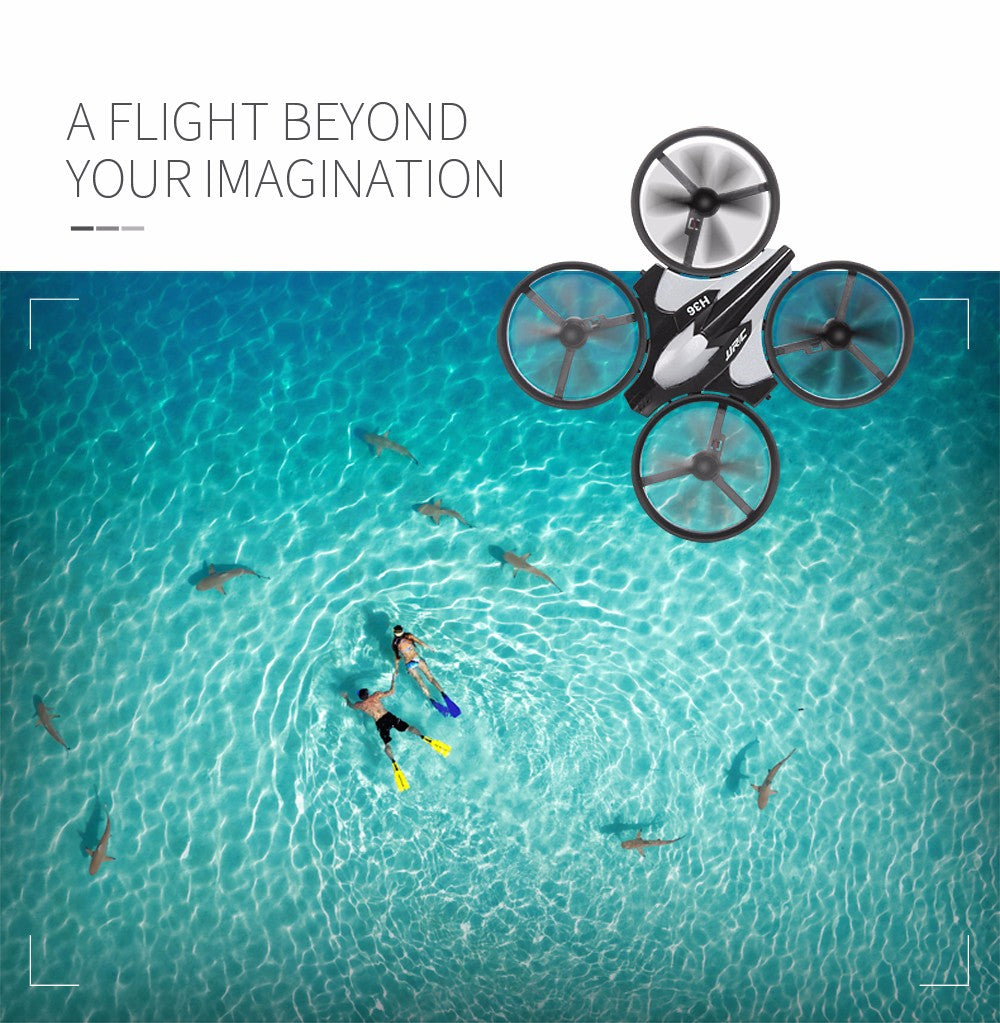 JJRC H36 Mini Drone RC Drone Quadcopters Headless Mode One Key Return RC Helicopter