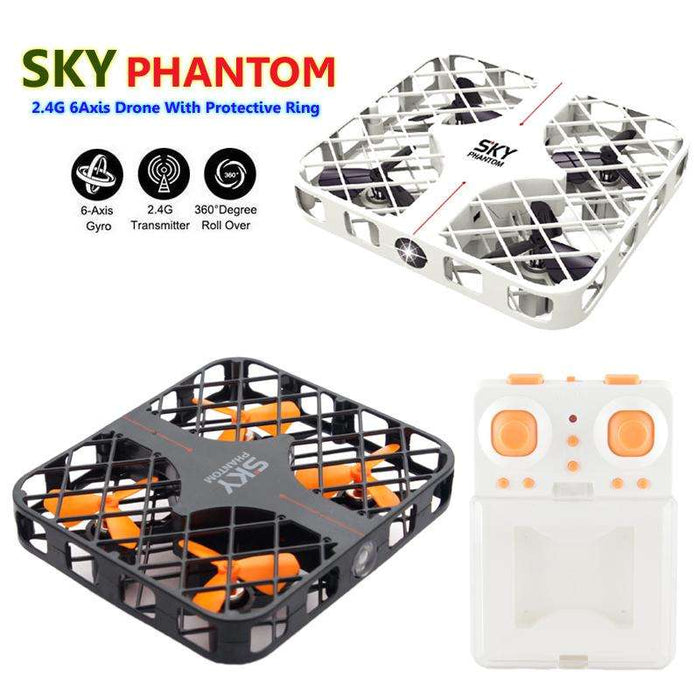 Mini Sky Phantom 2.4GHz 6-Axis Gyroscope Three Speeds Quadcopter - Gadget World