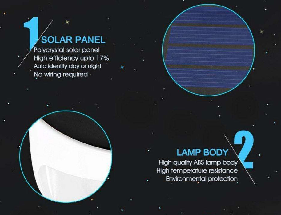 LED Solar Power Light Wall Mounted - Gadget World