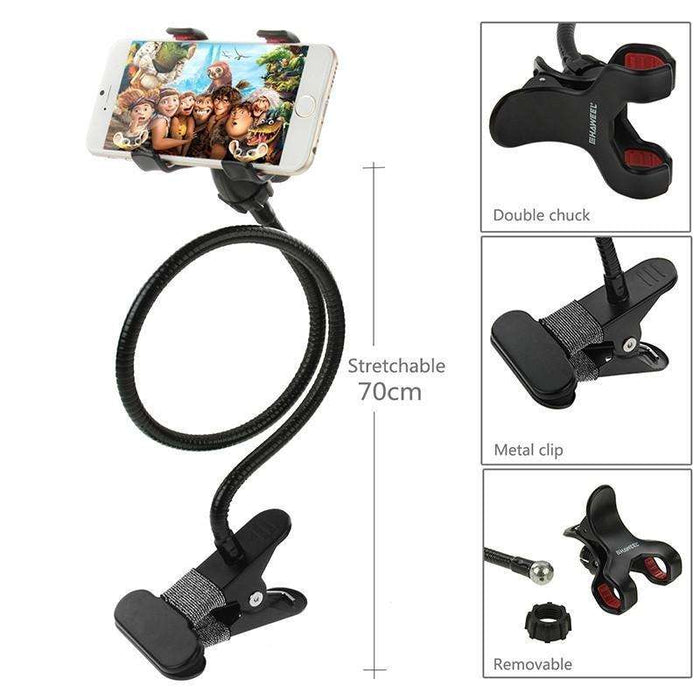 Multi-Functional High Quality Metal Telescopic Mobile Phone Holder - Gadget World