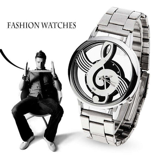 New Luxury Fashion and Casual Music Note Notation Watch - Gadget World