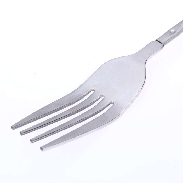 BBQ DIY Stainless Steel Telescopic Extendable Dinner Fruit Dessert Long Fork - Gadget World