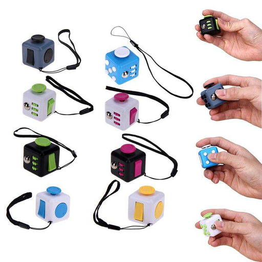Fidget Cube Stress and Anxiety Relief - Gadget World