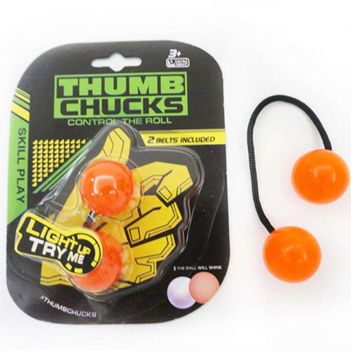 Thumb Chucks Bundle Control Roll Game Knuckles Finger Ball Anti Stress Fidget Toy - Gadget World