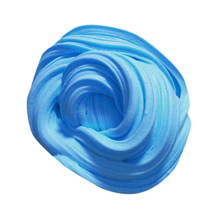 12 Colors Fluffy Floam Slime Scented Sludge - Gadget World