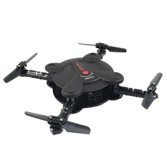 FQ777 FQ17W WIFI FPV Foldable Pocket Drone With 0.3MP Camera Altitude Hold Mode - Gadget World