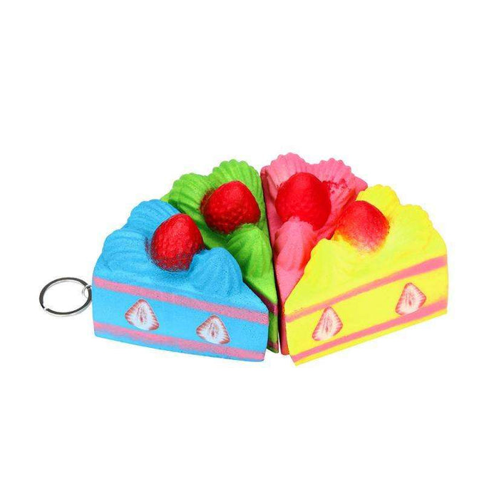 Squishy Strawberry Cake Straps Cream Perfume Slow Decompression Toy - Gadget World