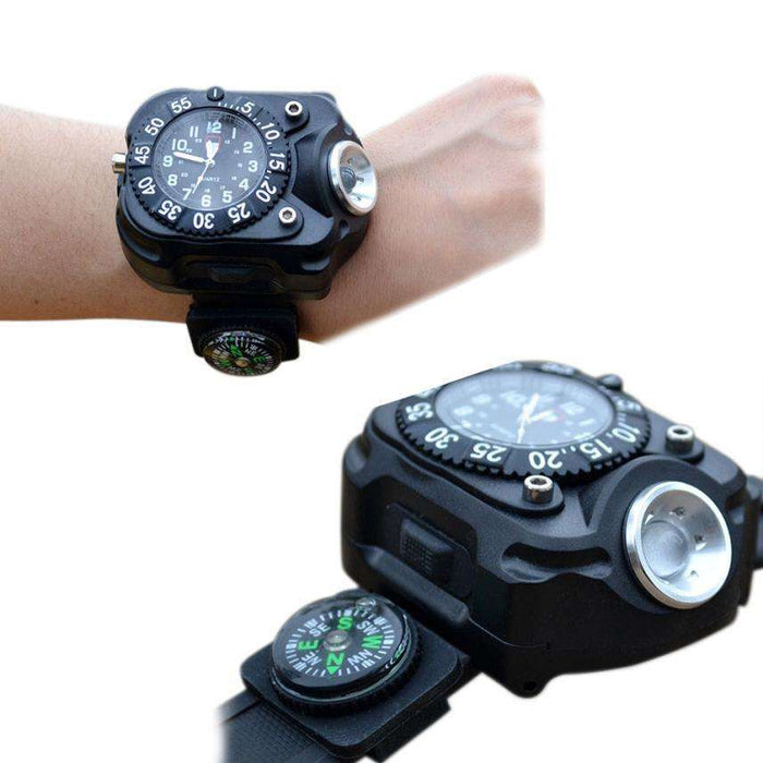 Multi Tools Outdoor With Waterproof LED Indicator - Gadget World