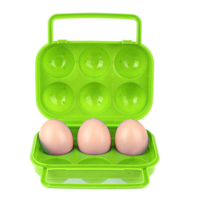 6 Grids Egg Storage Box - Gadget World