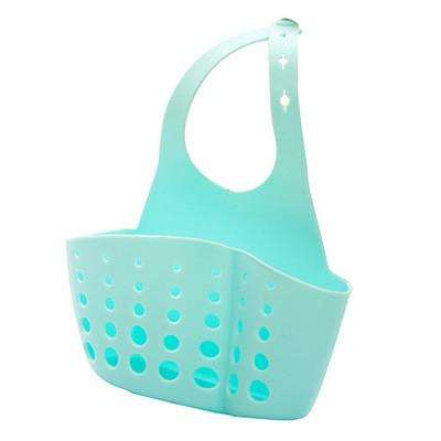 Kitchen Portable Hanging Drain Bag Bathroom Gadgets Sink Holder Soap Drain Holder Rack - Gadget World