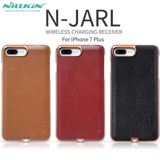 N-JARL Wireless Charging Case for iPhone 7 & 7 Plus Compatible with Magnetic Holder - Gadget World