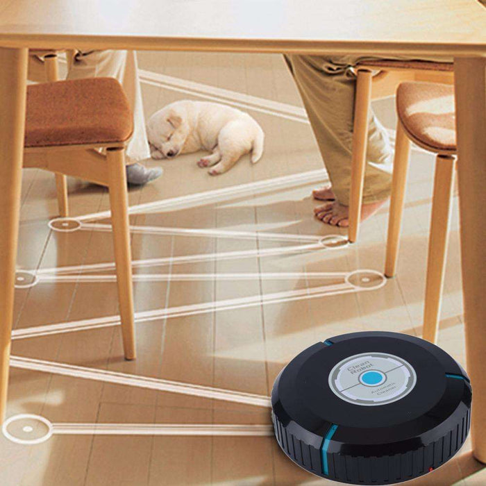 Smart Robotic Mop Dust Cleaner Cleaning for Floor Corners Crannies - Gadget World