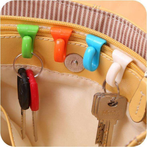 6PCS Creative Anti Lost Bag Hooks - Gadget World