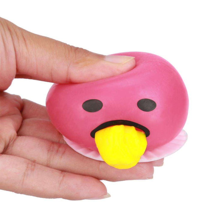 Spitting Yolk Emoji Egg Prank Squeeze Stress Relief Toy - Gadget World