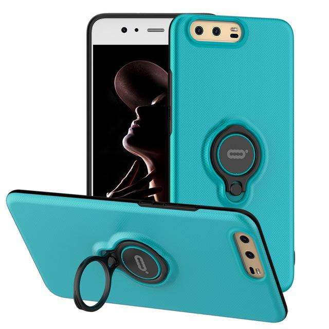 ICONFLANG Luxury Hard PC Ring Case Fashion Case for HUAWEI P10 & P10 Plus - Gadget World