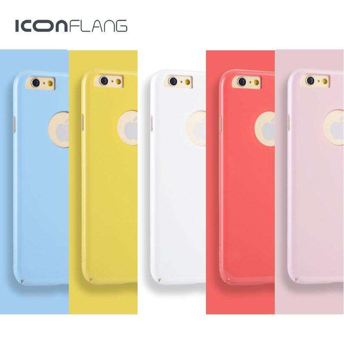 ICONFLANG Originality Case For iPhone 6s and 6s Plus luxury Candy Color - Gadget World