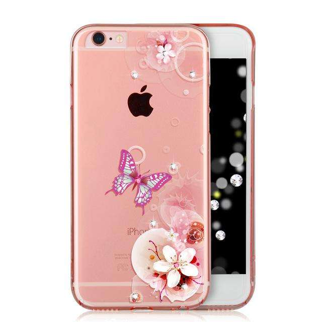 ICONFLANG Cover For iPhone 6S/6S Plus Case Phone Shell Luxury Cute Crystal Soft Case - Gadget World