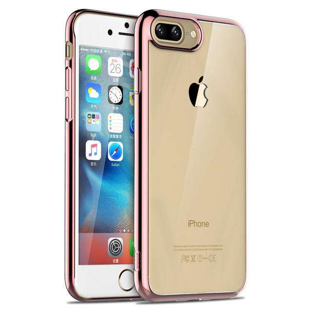ICONFLANG Ultra Thin Cases for iPhone 7 & 7 Plus TPU Back Cover Protective Case Protection Shell - Gadget World