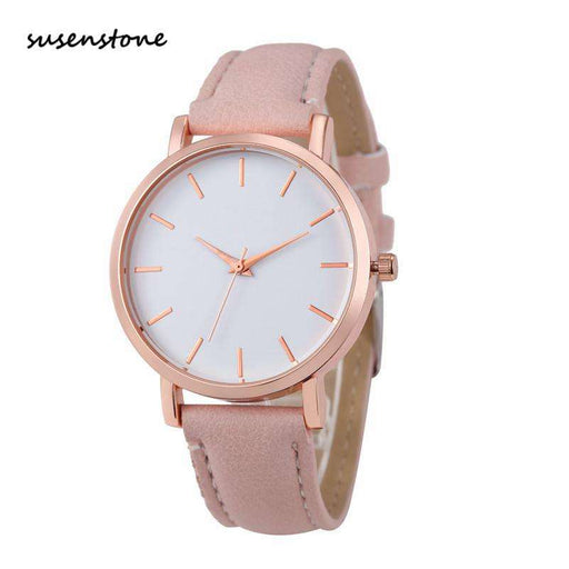 Susenstone 2017 Fashion women Watch Beautiful Women WristWatch Elegant Ladies Watch Clock Best Gift Relogio Feminino kol saati - Gadget World