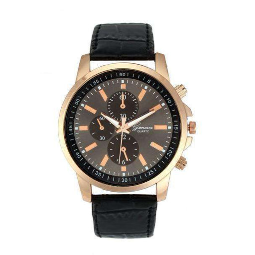 Splendid Fshion Reloje Casual Watches Female Geneva Faux Leather Quartz Analog Wrist Watch For Women Lady - Gadget World