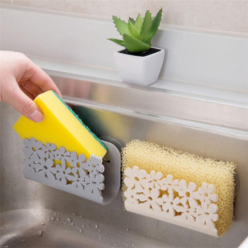 Wall Mounted Sponge & Soap Holder - Gadget World