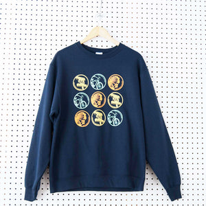 Santa Monica Crewneck Collage Sweatshirt